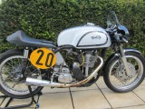 1960 Manx Norton 500cc short stroke twin plug head