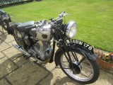 1939 BSA  M 24 Gold Star 500cc