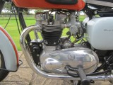 1958 Triumph Bonneville 650 Tangerine Dream
