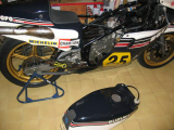 Ex Marco Luccinelli RG500 XR27 from the Galina Team
