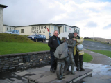 Peter Murray Ralph Clark from Kates Cottage with The Joey Dunlop