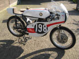 1971 Machin Yamaha AS1 125 Twin