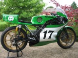 Kawasaki KR750 Watercooled racing machine