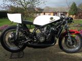 1974 Yamaha TZ750B Twin shock