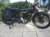 1928 Sunbeam Model 8 350cc flat tanker,
