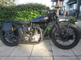 1929 Rudge Ulster 500cc 4 valve racing machine